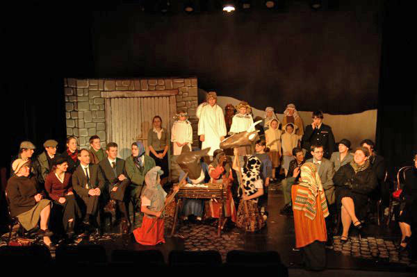 The nativity rehearsal