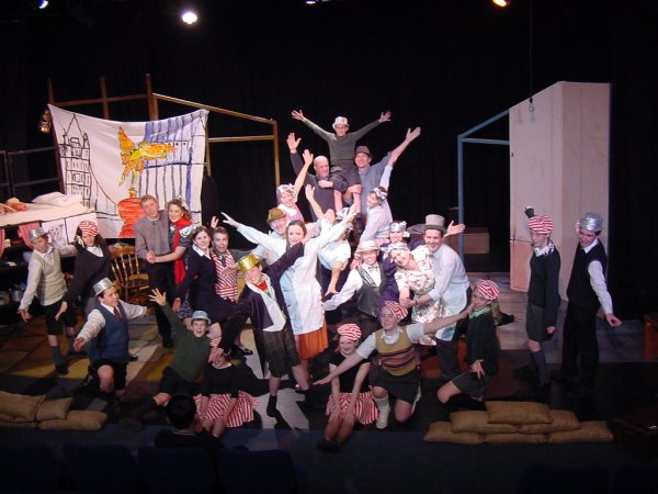 The village show's big production number - Shaftesbury Avenue