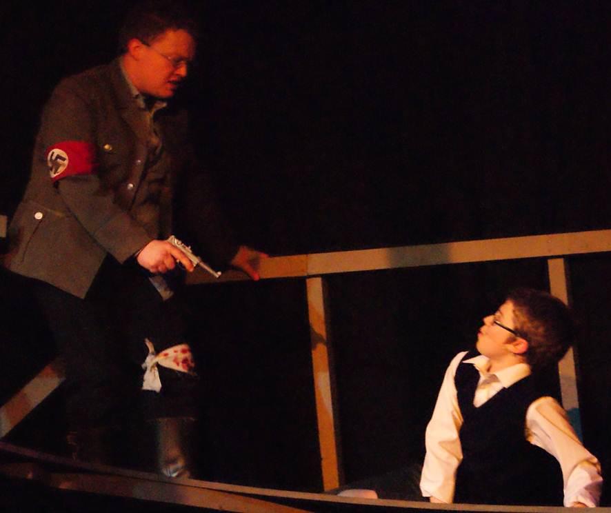 The German pilot and Kip