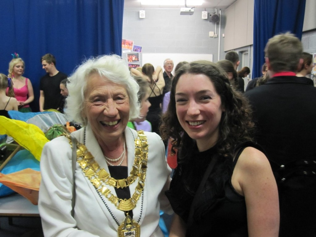 The Major of Solihull and our director
