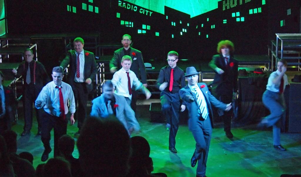 The crapshooters' dance