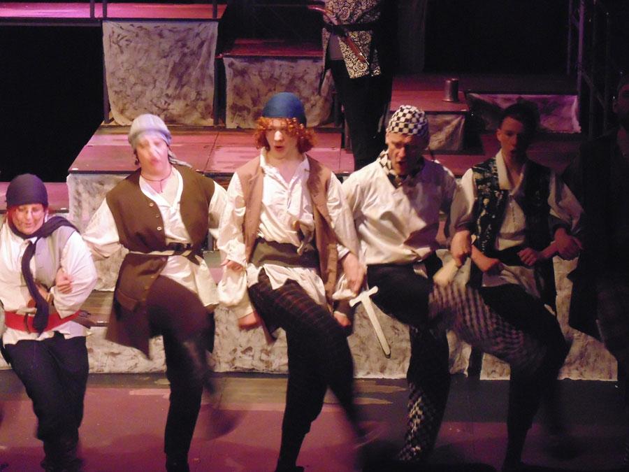 25 A pirate Tarantella to cheer up Capt Hook