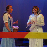 8 Dorothy meets Glinda, the good witch