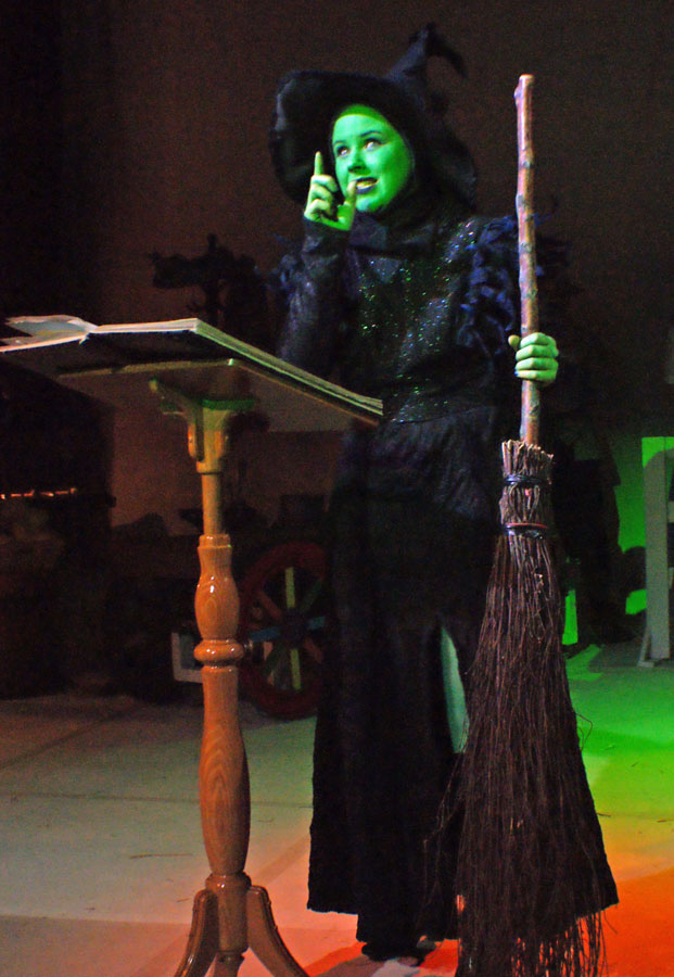 25 Wicked Witch makes a sleeping spell