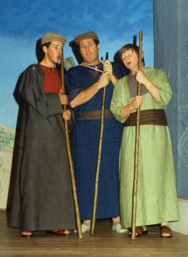 Three shepherds
