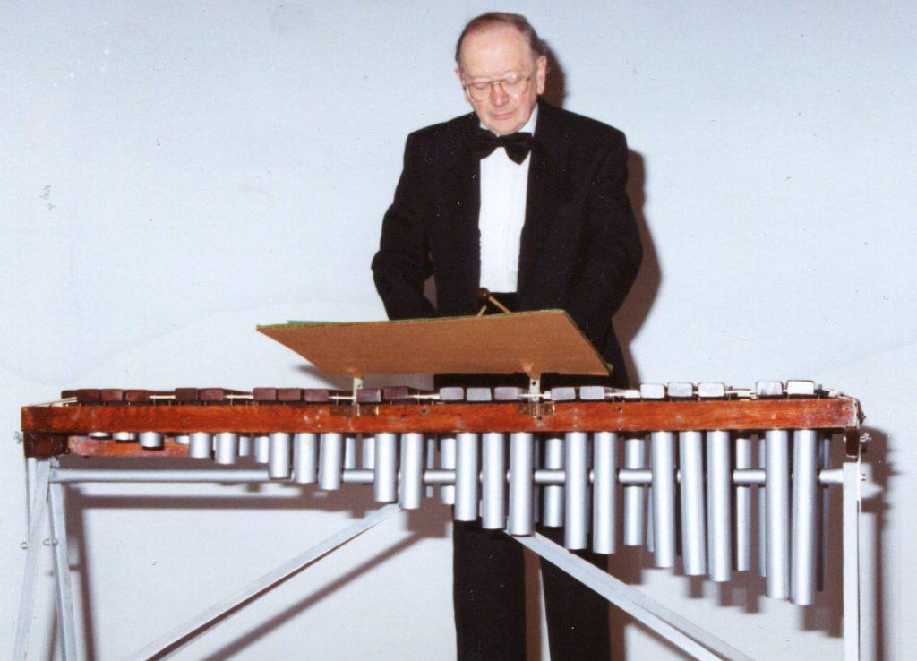 John Leedham provides a musical interlude